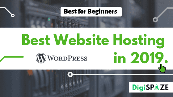 How to Speed Up Yours WordPress Site in 2019 : 1. Choose a Best Web Hosting Providers for Your Site :