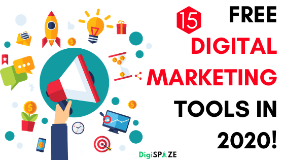 Top 15 Free Digital Marketing Tools 2020 !