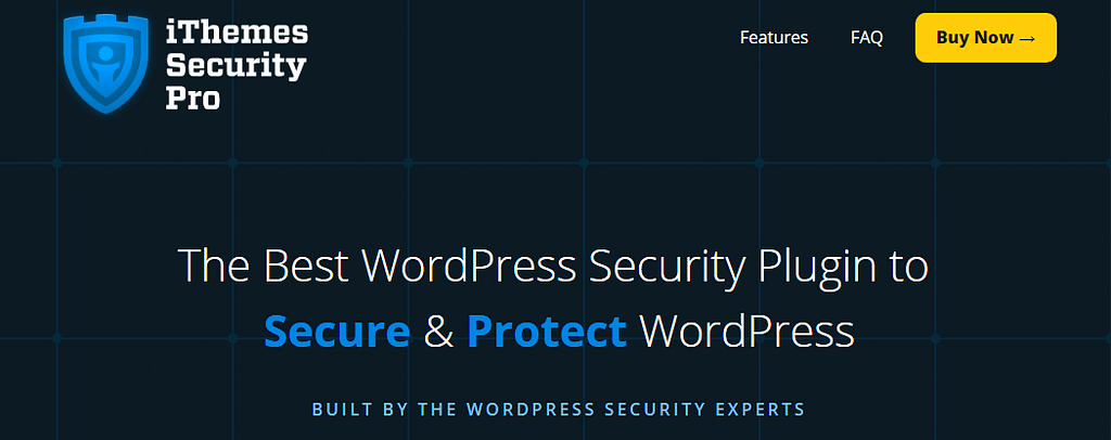 WordPress Security Plugin iThemes Security Pro
